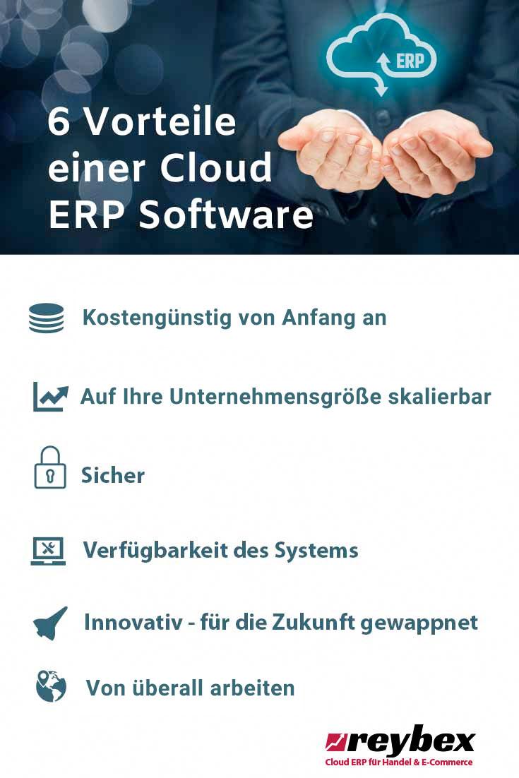 6 Vorteile einer Cloud ERP