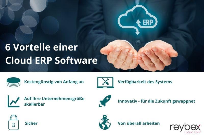 6 Vorteile einer Cloud ERP Software