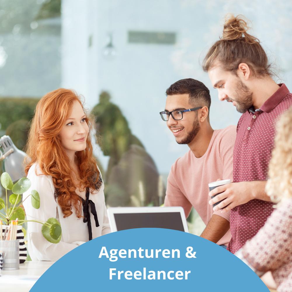 Agenturen und Freelancer