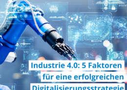 Industire 4.0 Digitalisierungsstrategie